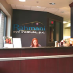Rahmani Eye Institute Front Desk